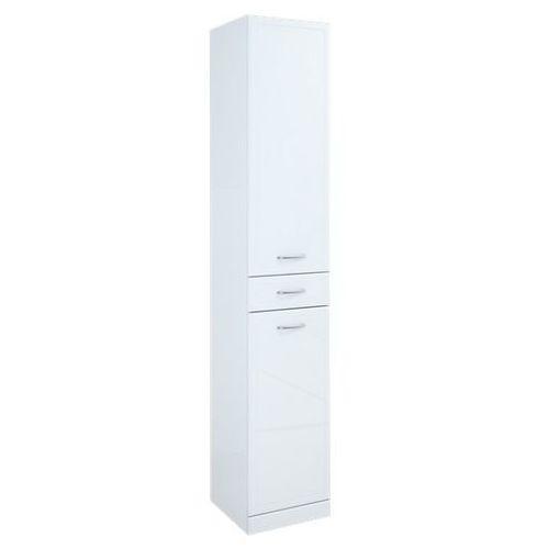 Produkt z kategorii- regały łazienkowe - Elita Aqua Line słupek łazienkowy wysoki z drzwiczkami i szuflad�
