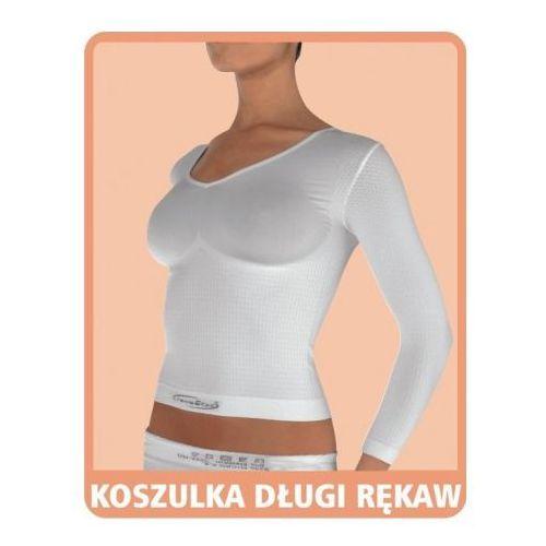 Koszulka przeciwcellulitowa z długim rękawem - czarna - sprawdź w artcoll