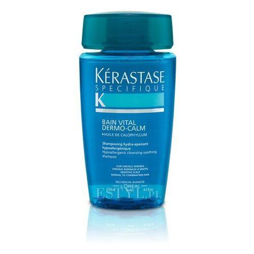 Kerastase Dermo-Calm Vital - Kąpiel witalizująca i kojąca do włosów wrażliwych 250 ml - produkt z kategorii- odżywki do włosów