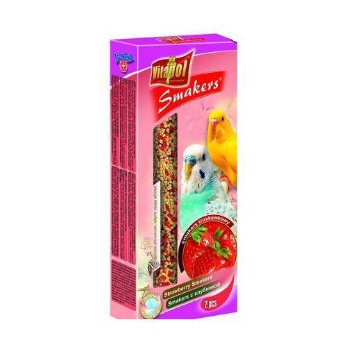 Smakers Kolby truskawkowe dla papużki falistej 2 sztuki, Vitapol