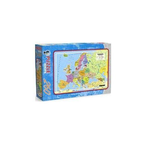 Mapa administracyjna Europy - puzzle, produkt marki AB spółka akcyjna