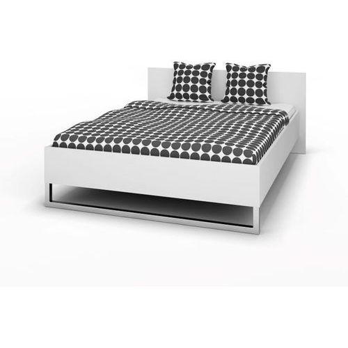 STYLE łóżko 140x200cm - Biały ze sklepu Meble Pumo