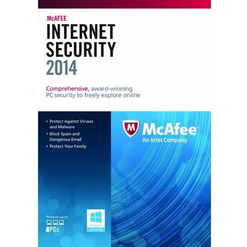 McAfee Internet Security 2014 1 PC licencja na rok - oferta (d599417bb78522c0)