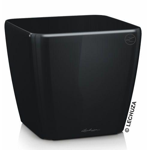 Donica Lechuza Quadro LS czarna, produkt marki Produkty marki Lechuza