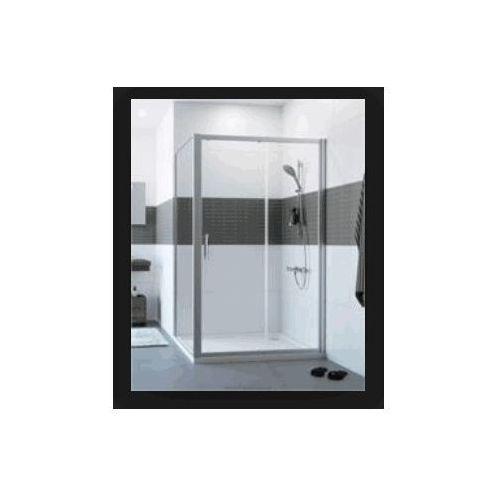 HUPPE CLASSICS 2 , drzwi suwane 1-częśćiowe ze stałym segmentem 4-kąt C20401 (drzwi prysznicowe)