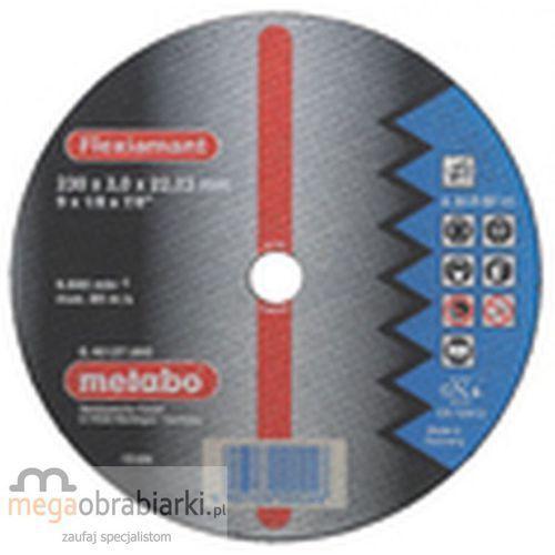 METABO Tarcza tnąca do stali 230 mm (25 szt) Flexiamant A 30-R wypukła RATY 0,5% NA CAŁY ASORTYMENT DZWOŃ 77 415 31 82 ze sklepu Megaobrabiarki - zaufaj specjalistom