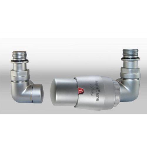 Zestaw instalacyjny vision termostatyczny wersja osiowa prawa satyna wyprodukowany przez Varioterm