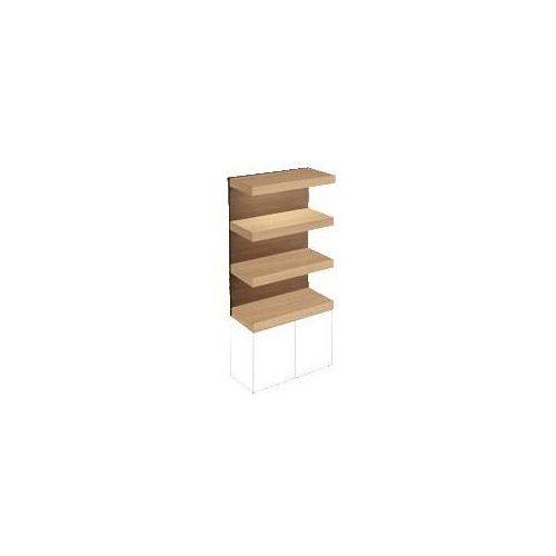 Regał 800x1280x350 mm Villeroy & Boch Pure Stone 95780000 - produkt z kategorii- regały łazienkowe