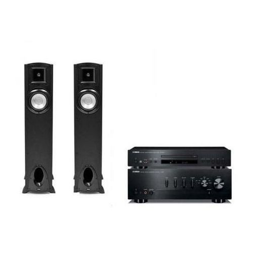 Artykuł YAMAHA A-S300 + CD-S300 + KLIPSCH SYNERGY F10 z kategorii zestawy hi-fi