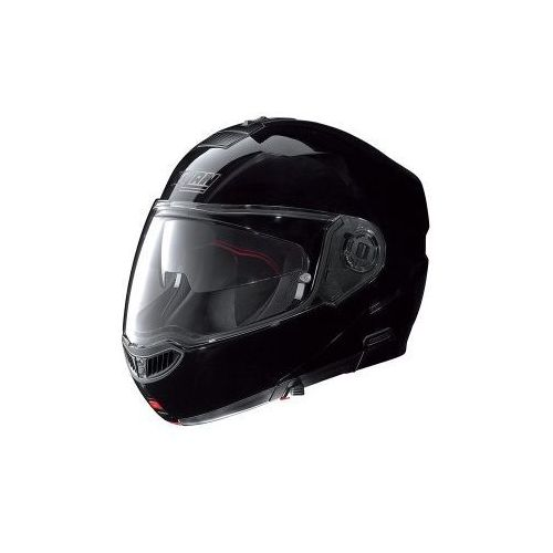 Kask Szczękowy  N104 Evo Classic N-Com (Czarny Met), marki Nolan do zakupu w MotoKanion