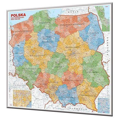 Polska. Mapa ścienna administracyjna magnetyczna w ramie 1:500 000 wyd. , produkt marki Jokart