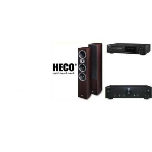 ONKYO A-9010 + C-N7050 + HECO VICTA 702 - wieża, zestaw hifi - zmontuj tanio swój zestaw na stronie