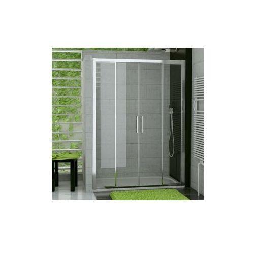 SANSWISS TOP-LINE Drzwi rozsuwane czteroczęściowe TOPS4 (drzwi prysznicowe)