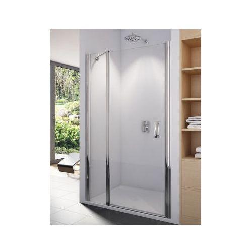 SANSWISS SWING-LINE Drzwi jednoczęściowe 140 z elementem stałym SL1314005007 (drzwi prysznicowe)