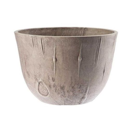 Donica Sęki 25cm, beżowa, produkt marki Galicja
