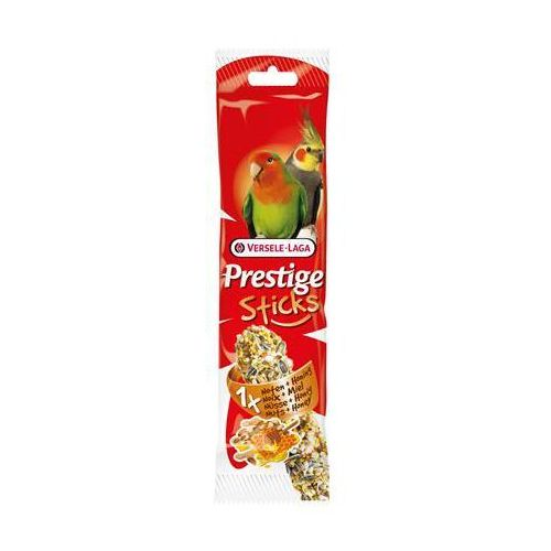 VERSELE LAGA - PRESTIGE STICKS BIG PARAKEETS NUTS & HONEY - 70g