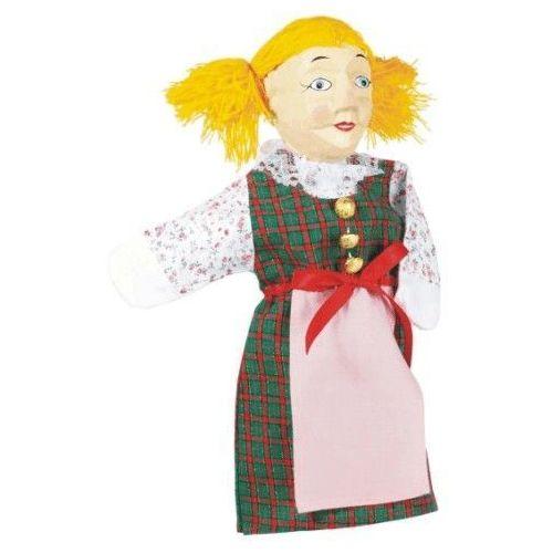 Pacynka na dłoń dla dzieci do teatrzyku - Gretel (pacynka, kukiełka)