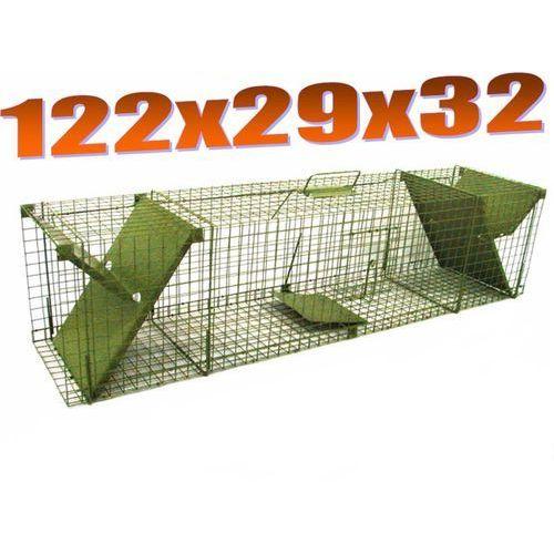 Pułapka dwuwejściowa ma kuny, lisy, koty ZL K2D od Mediasklep24