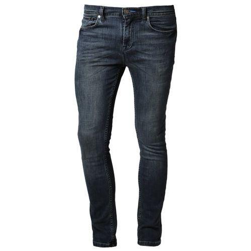 Produkt z kategorii- spodnie męskie - adidas Originals Jeansy Slim fit niebieski