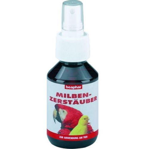 BEAPHAR Milbenzerstauber - preparat insektobójczy dla ptaków 100ml, Beaphar