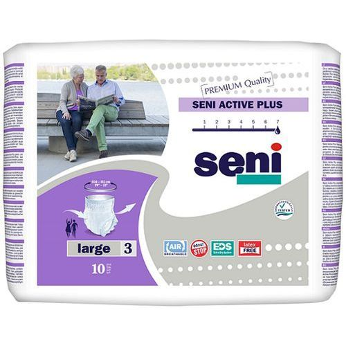 Produkt Majtki chłonne Seni Active Plus (3) Large 10szt.