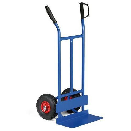 B2B Partner Stalowa taczka - wózek ręczny z ochroną kół z kat. taczki