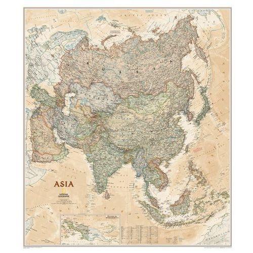 Azja i Bliski Wschód. Mapa ścienna polityczna Executive magnetyczna w ramie 1:13,8 mln wyd. , produkt marki National Geographic