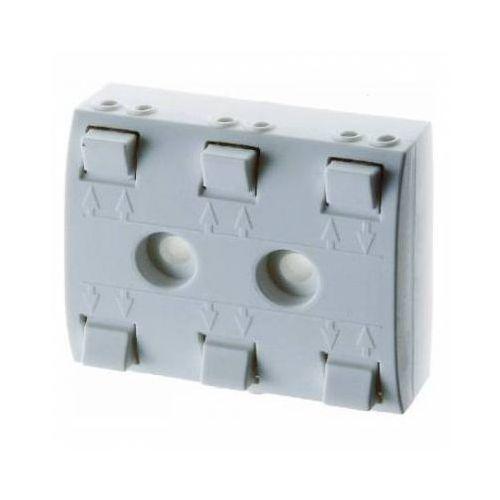 NN rozdzielacz 5-krotny dla transformatorów; śnieżnobiały; Elektronika domowa Numer katalogowy: 0162 z kat