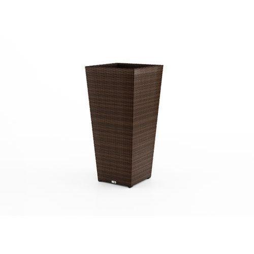 Produkt Donica SCALEO Modern 80 cm brąz, marki Oltre