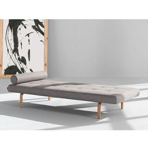 Sofa Napper szarobeżowa 521 nogi dąb lakierowany  740030521-740030-5, INNOVATION iStyle