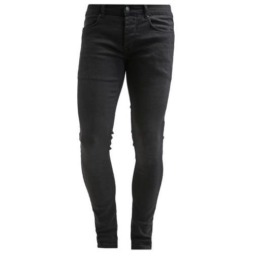 Antioch Jeansy Slim fit washed black - produkt z kategorii- spodnie męskie