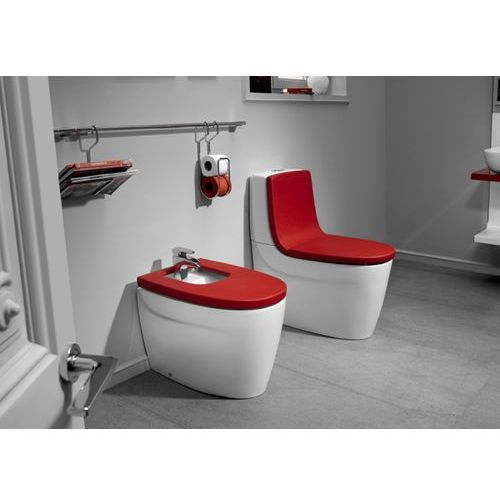 Roca Oparcie wc - soft texture czerwone  khroma a80165af3t passion red