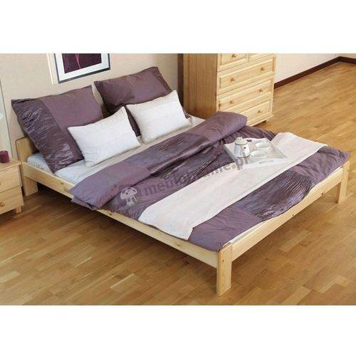 Łóżko sosnowe 140 x 200 cm Celly ze sklepu Meblobranie.pl