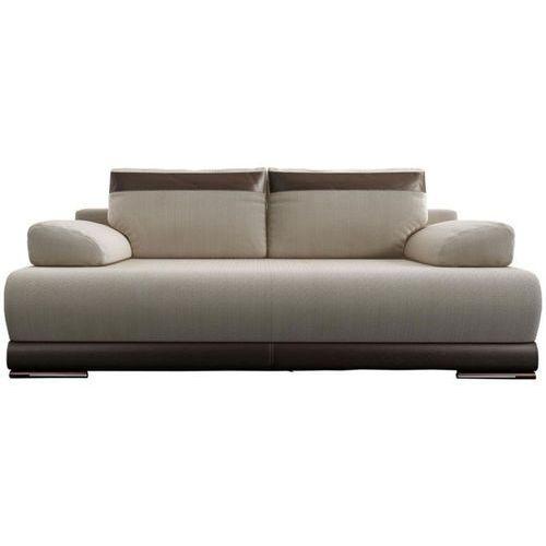 Sofa rozkładana Ontario - beżowy - brązowy, Meble Tapicerowane - Studio Wnętrz