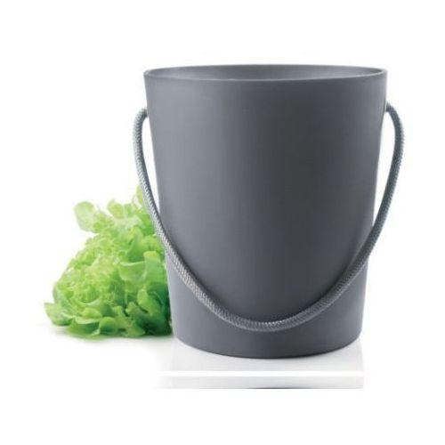 Produkt z kategorii- suszarki do naczyń - Eva Solo Suszarka do sałaty Salad Spinner szara