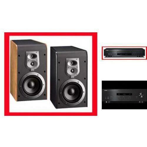 YAMAHA A-S201 + CD-S300 + JBL ES20 - Tanie Raty za 1%