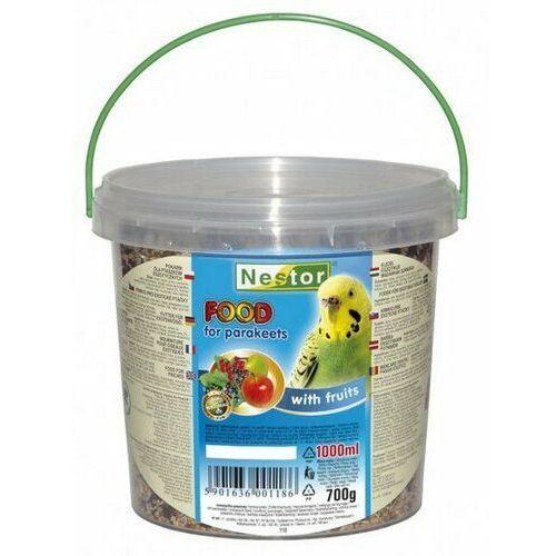 Nestor Pokarm dla małej papugi owocowy 1L, nestor