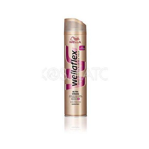Produkt z kategorii- pozostałe kosmetyki do włosów - Wellaflex Ultra Strong Lakier, 250 ml