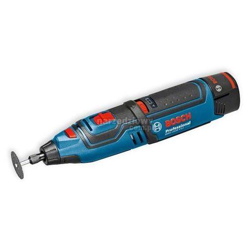 Produkt BOSCH Akumulatorowe narzędzie wysokoobrotowe GRO 10,8 V-LI Professional (2 akumulatory 2,0 Ah) w walizce L-BOXX