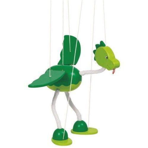 Marionetka dla dzieci - Dinozaur Nepomuk (pacynka, kukiełka)