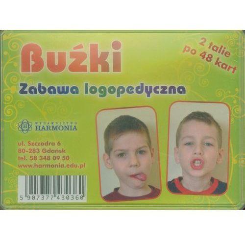 Buźki Zabawa logopedyczna 2 talie po 48 kart - oferta [35afd3a97fd38508]