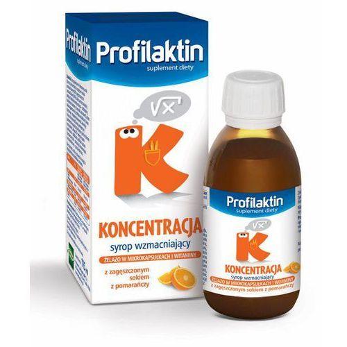 Profilaktin Koncentracja syrop (smak pomarańczowy) 115 ml, postać leku: syrop