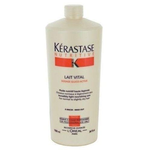 Produkt z kategorii- odżywki do włosów - Kerastase Nutritive Lait Vital 1000ml W Odżywka do włosów do włosów normalnych i suchych + Próbka perfum GRATIS + Wysyłka od 6zł!