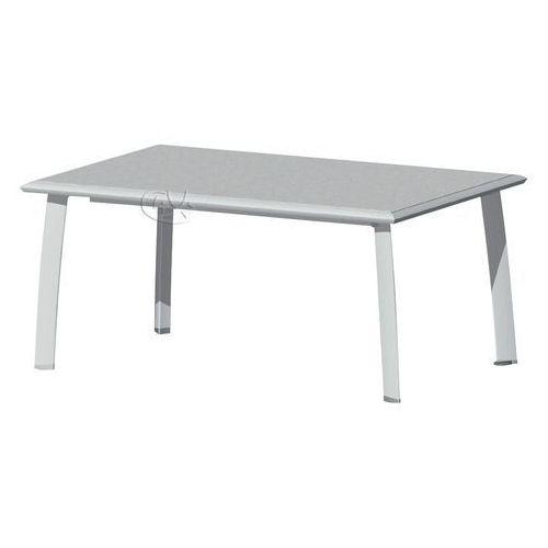 Stół 175x100 cm w kolorze srebrnym (stół ogrodowy)