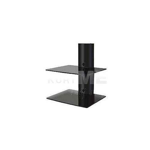 Art ART Półka D-50 20KG do DVD/TUNER aluminiowy czarny z kat. półki rtv
