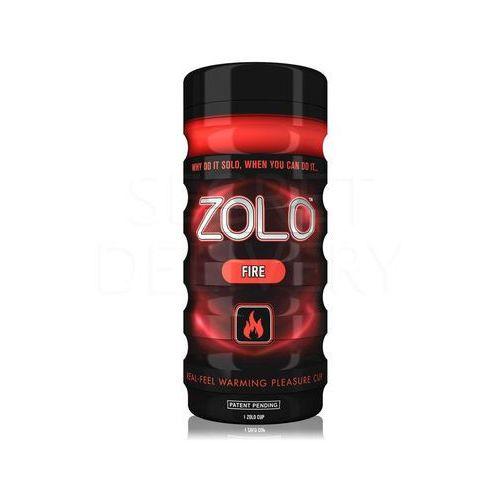 Zolo Fire Cup masturbator z lubrykantem rozgrzewającym - oferta [356b467ee745037d]