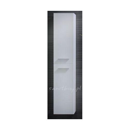 Produkt z kategorii- regały łazienkowe - Szafka Elita Kwadro 30 słupek 2D czarna 164591