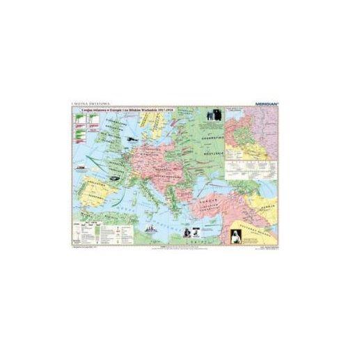 Produkt I Wojna Światowa 1914-16/1917-18. Mapa ścienna., marki Meridian