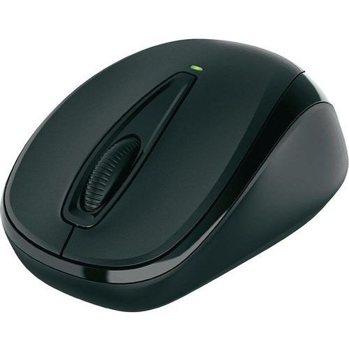 Microsoft Mysz optyczna  3000 V.2 , bezprzewodowa, 1000 dpi, czarna, maks. 10 m, USB z kat. myszy, trackballe i wskaźniki