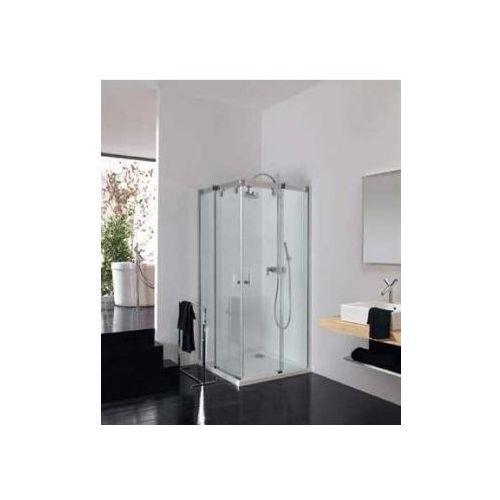 HUPPE VISTA PURE częściowo w ramie Wejście narożnikowe, drzwi suwane VT0550 (drzwi prysznicowe)